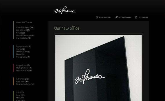 arts-thanea-web-design-inspiration