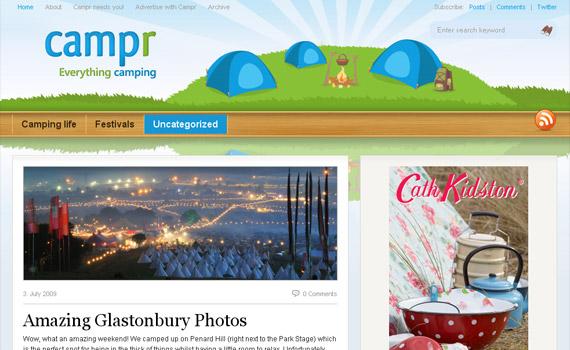 campr-web-design-inspiration