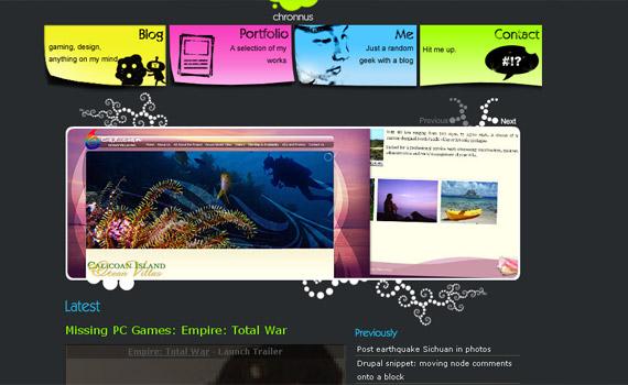 chronus-web-design-inspiration