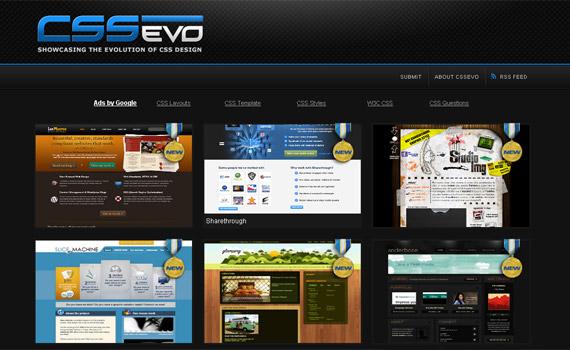 css-evo-web-design-inspiration