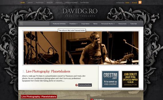 davidg-web-design-inspiration