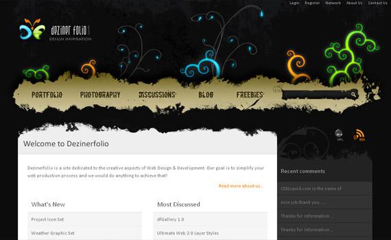 deziner-folio-web-design-inspiration