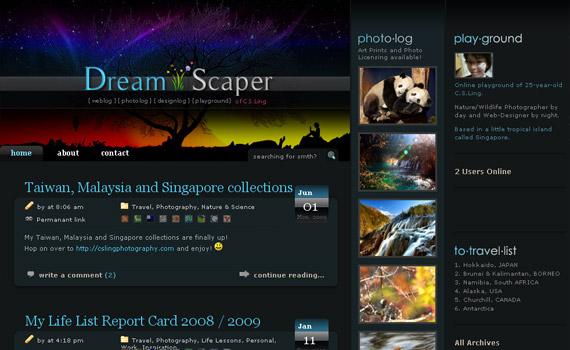 dream-scaper-web-design-inspiration