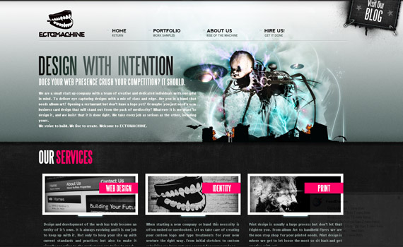 ectomachine-web-design-inspiration