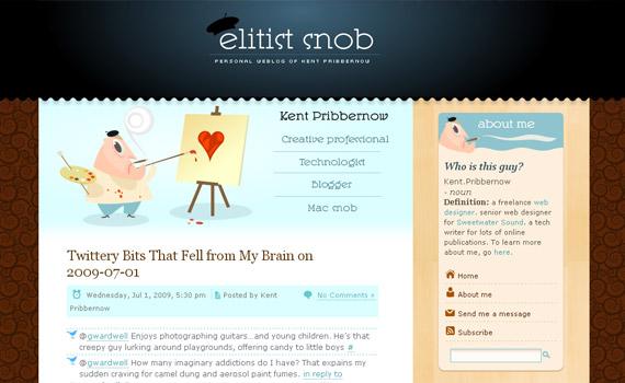 elitist-snob-web-design-inspiration