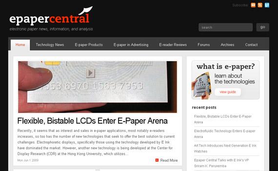 epaper-central-web-design-inspiration