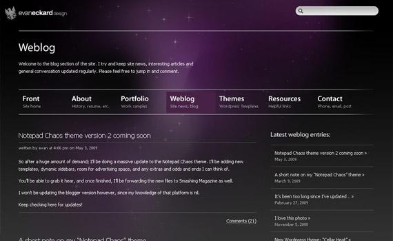 evan-eckard-web-design-inspiration