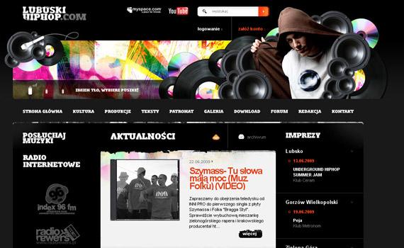 lubuski-hiphop-web-design-inspiration