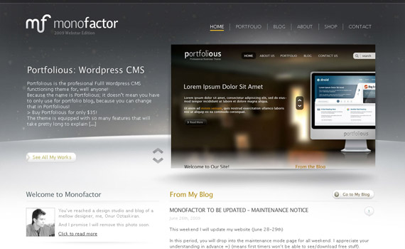 mono-factor-web-design-inspiration