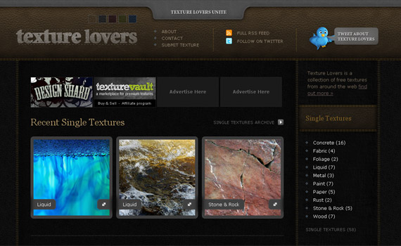 texture-lovers-web-design-inspiration