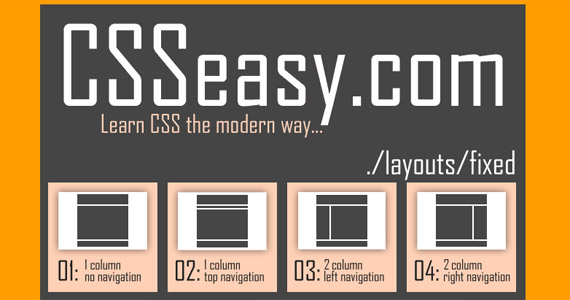css-easy-tutorial-web-site-learning