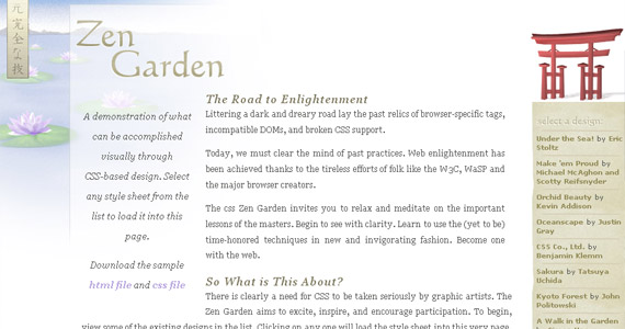 css-zen-garden-tutorial-web-site-learning