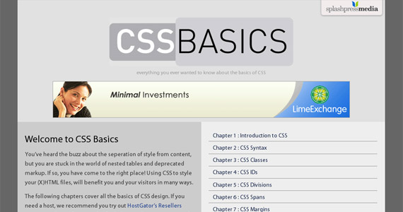 cssbasics-css-tutorial-web-site-learning