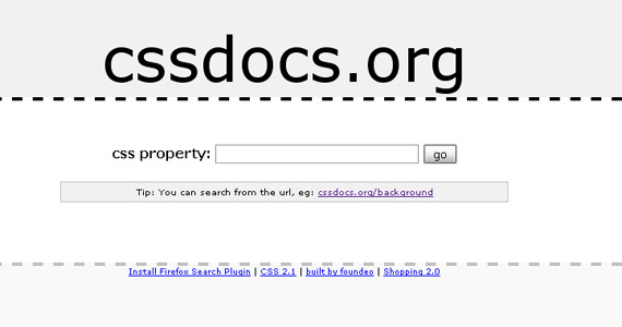 cssdocs-css-tutorial-web-site-learning
