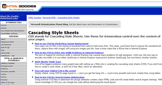 html-goodies-css-tutorial-web-site-learning
