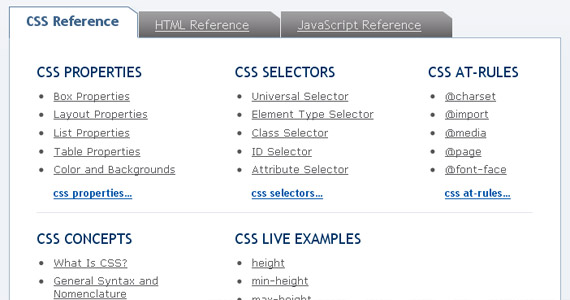 sitepoint-css-reference-tutorial-web-site-learning
