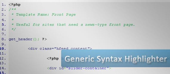 geshi-generic-syntax-highlighter