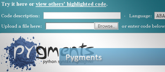 pygments-python-syntax-highlighter
