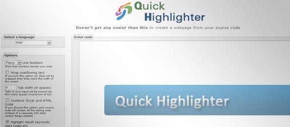quick-highlighter-syntax-highlighter
