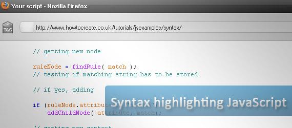 syntax-highlightning-javascript