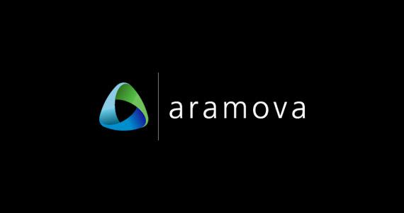 aramova-creative-gradient-3d-logo-design