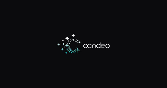 candeo-creative-gradient-3d-logo-design