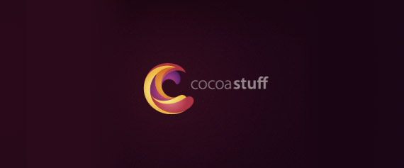 cocoa-stuff-gradient-3d-logo-designs