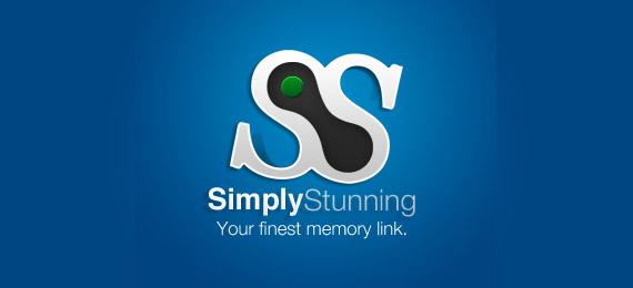 simply-stunning-creative-gradient-3d-logo-design