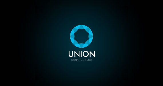 union-creative-gradient-3d-logo-design