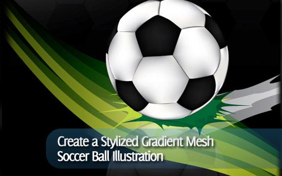 create-stylized-gradient-mesh-soccer-ball-illustration