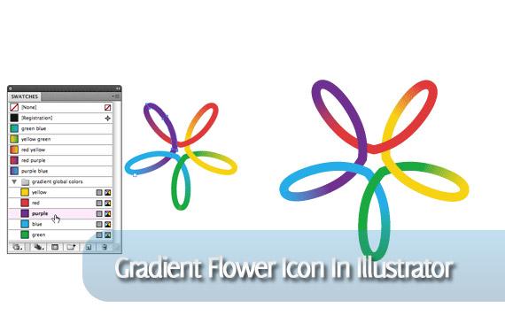 gradient-flower-icon-illustrator-tutorial