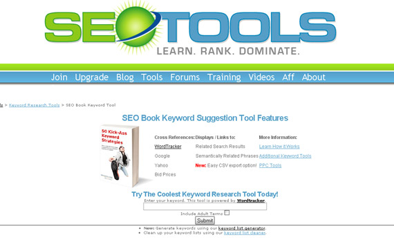 seotools-free-helpful-keyword-research-tool