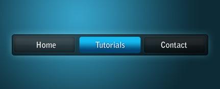 blue-on-black-menu-photoshop-navigation-tutorial