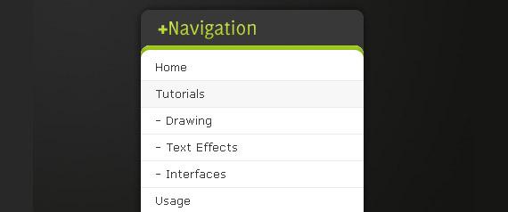 dark-menu-photoshop-navigation-tutorial