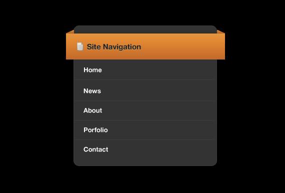 orange-banner-menu-photoshop-navigation-tutorial