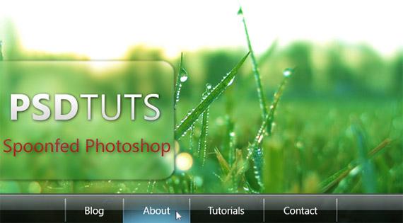 vista-inspired-menu-photoshop-navigation-tutorial