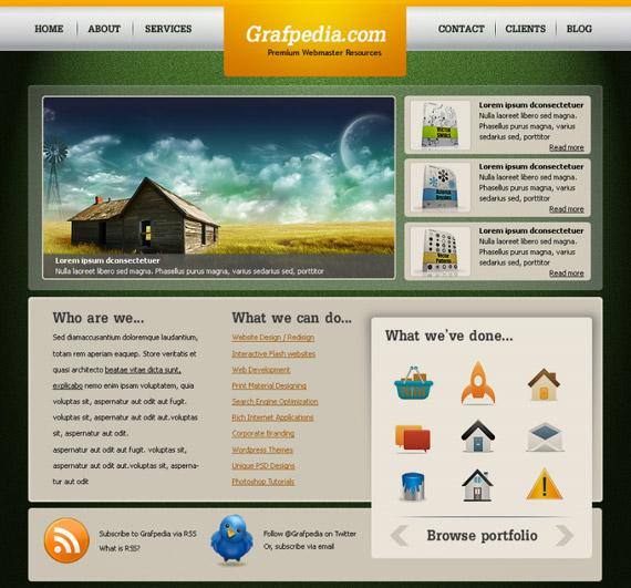 amazing-texture-photoshop-web-layout-tutorial