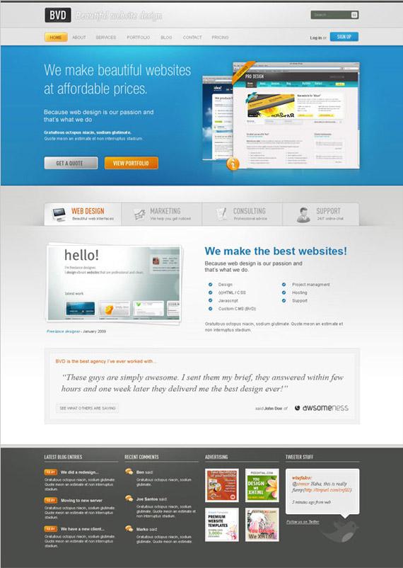 beautiful-blog-photoshop-web-layout-tutorial
