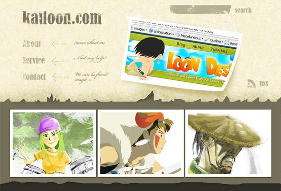 cartoon-grunge-photoshop-web-layout-tutorial