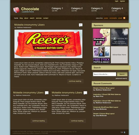 chocolate-photoshop-web-layout-tutorial