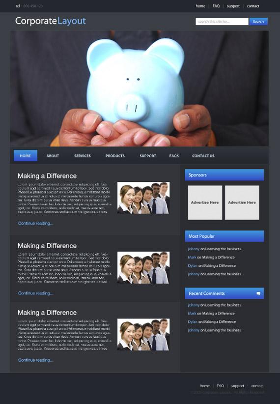 corporate-layout-photoshop-web-layout-tutorial
