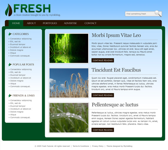 fresh-photoshop-web-layout-tutorial