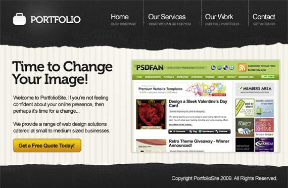 grunge-portfolio-photoshop-web-layout-tutorial