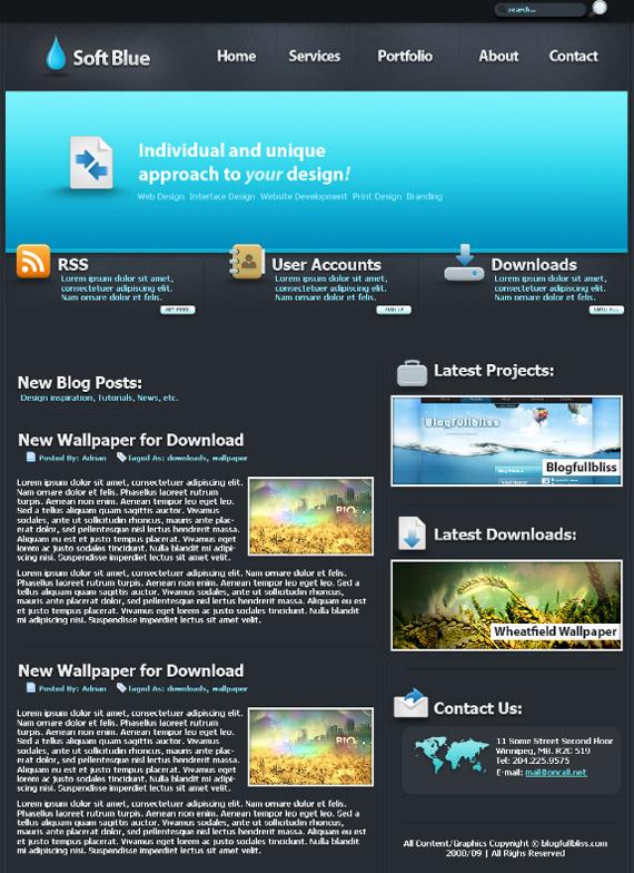 soft-blue-photoshop-web-layout-tutorial