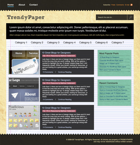 trendy-paper-photoshop-web-layout-tutorial
