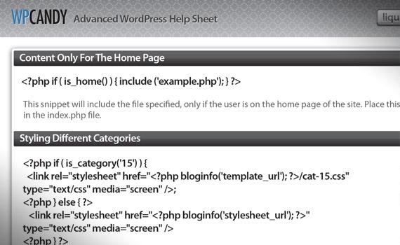 advanded-wordpress-help-sheet-useful-resource