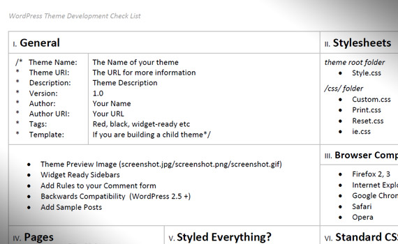 wordpress-theme-development-check-list