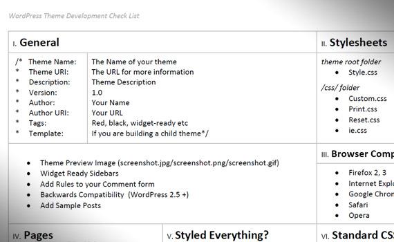 wordpress-theme-development-check-list