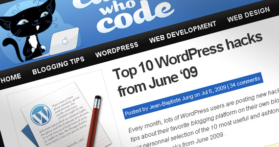 top-10-wordpress-hacks-june-2009