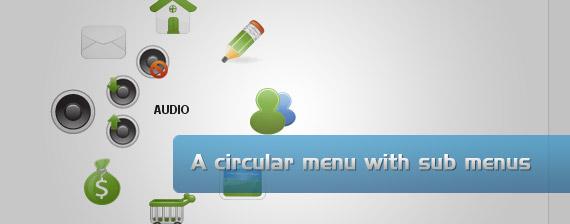 circular-drop-down-multi-level-menu-navigation